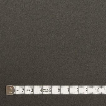 ウール×無地(スチールグレー)×フラノ(フランネル) サムネイル4