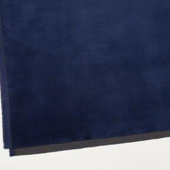 ポリエステル&コットン混×無地(マリンブルー)×ベッチンストレッチ_全3色 サムネイル2