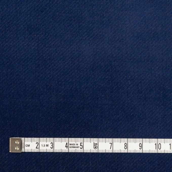 ポリエステル&コットン混×無地(マリンブルー)×ベッチンストレッチ_全3色 イメージ4