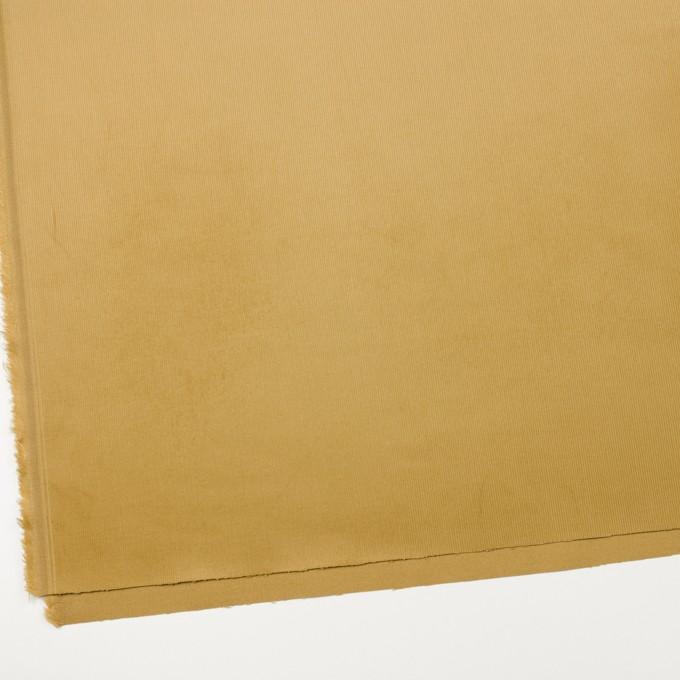 コットン&ポリウレタン×無地(イエローオーカー)×細コーデュロイ・ストレッチ_全3色 イメージ2
