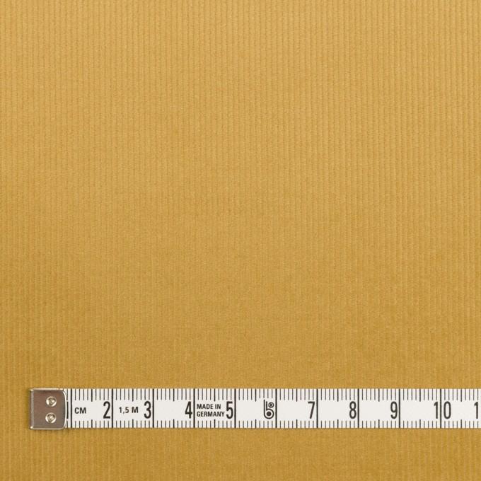 コットン&ポリウレタン×無地(イエローオーカー)×細コーデュロイ・ストレッチ_全3色 イメージ4