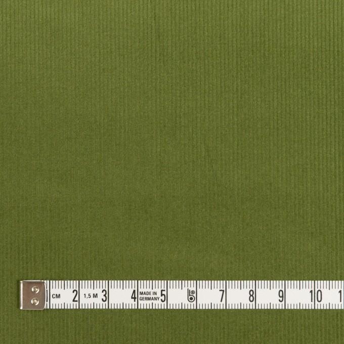 コットン&ポリウレタン×無地(フォレストグリーン)×細コーデュロイ・ストレッチ_全3色 イメージ4