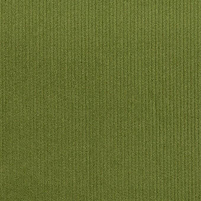 コットン&ポリウレタン×無地(フォレストグリーン)×細コーデュロイ・ストレッチ_全3色 イメージ1