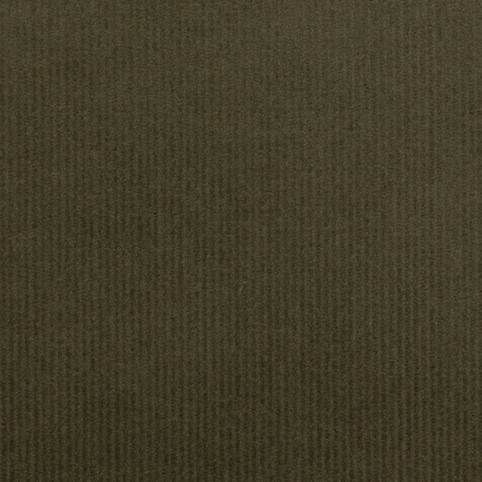 コットン&ポリウレタン×無地(ダークカーキグリーン)×細コーデュロイ・ストレッチ_全3色 イメージ1