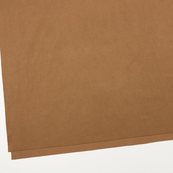 アクリル&ポリエステル混×無地(オークル)×スエード(人工皮革)_全2色 イメージ2