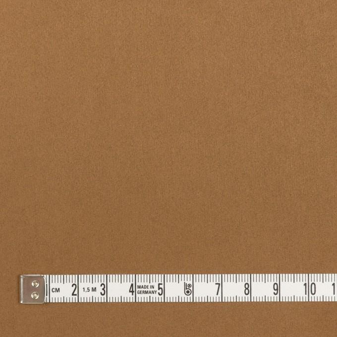 アクリル&ポリエステル混×無地(オークル)×スエード(人工皮革)_全2色 イメージ4