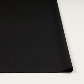アクリル&ポリエステル混×無地(ブラック)×スエード(人工皮革)_全2色 サムネイル3