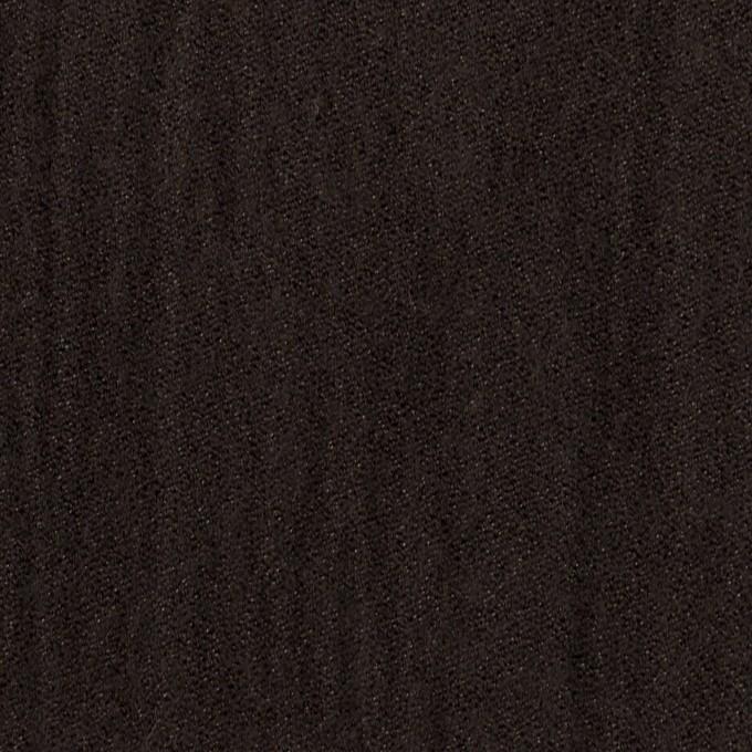 ウール&メタル×無地(ダークブラウン)×ジョーゼットワッシャー_全2色_イタリア製 イメージ1