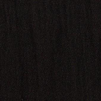 ウール&メタル×無地(ブラック)×ジョーゼットワッシャー_全2色_イタリア製 サムネイル1
