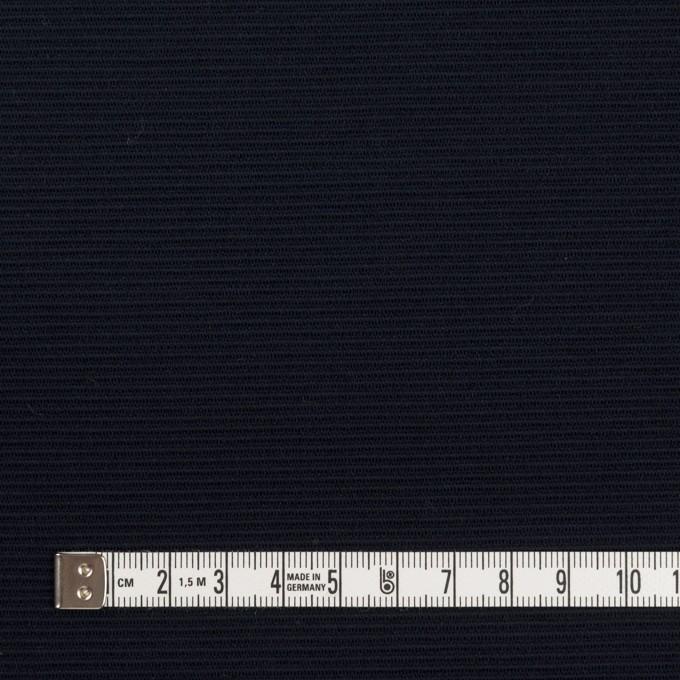 リヨセル&アクリル混×無地(ダークネイビー)×かわり編み イメージ4