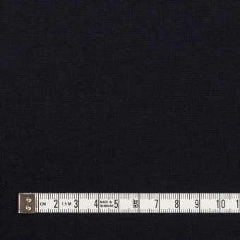 レーヨン&ポリエステル×無地(ダークネイビー)×Wニット サムネイル4