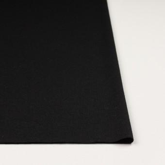 ウール×無地(ブラック)×天竺ニット サムネイル3