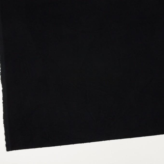 コットン×無地(ブラック)×モールスキン_全2色 イメージ2