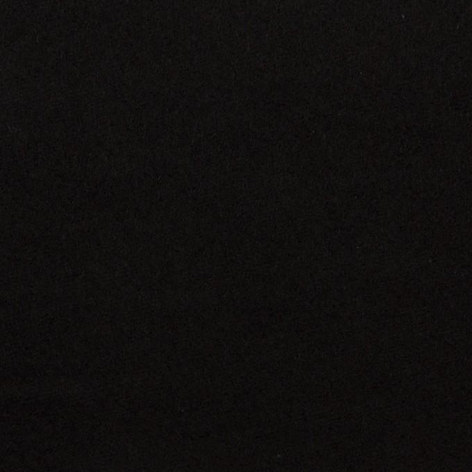 コットン×無地(ブラック)×モールスキン_全2色 イメージ1