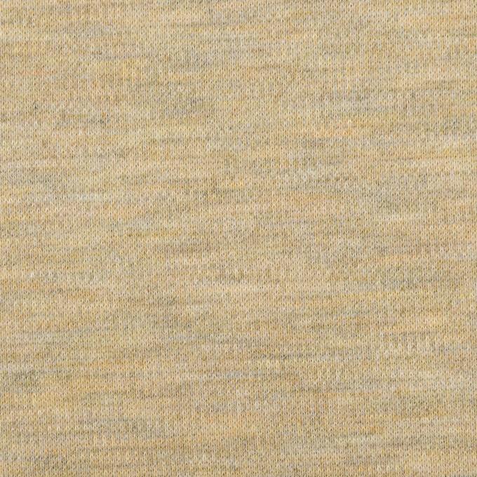 ポリエステル×アクリル混×ミックス(オートミール)×Wニット イメージ1