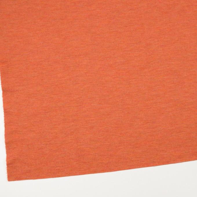 ウール×無地(オレンジ)×Wニット イメージ2