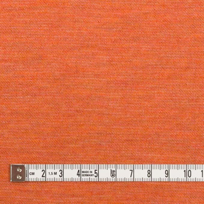 ウール×無地(オレンジ)×Wニット イメージ4
