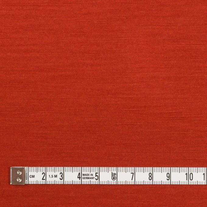 ウール&テンセル×無地(レッド)×天竺ニット イメージ4