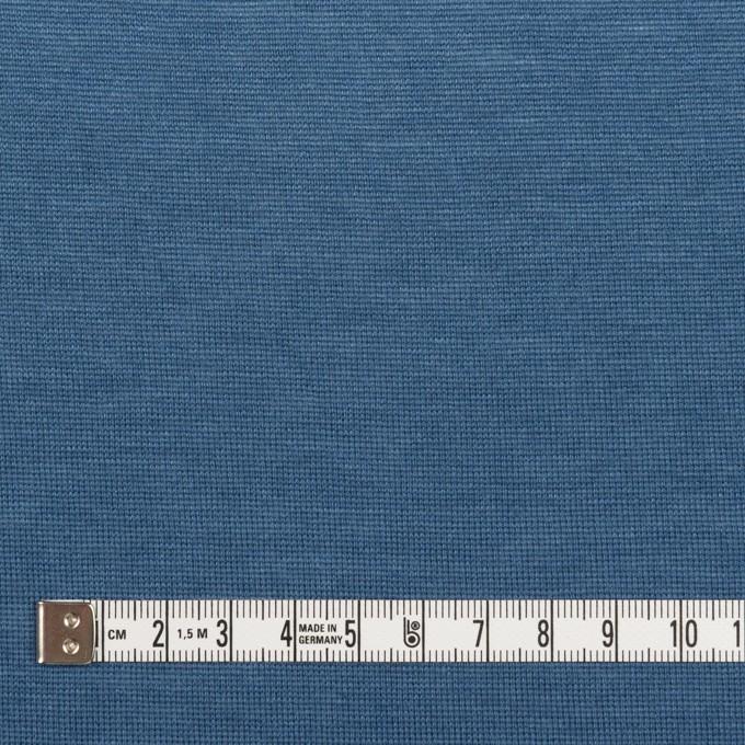 テンセル&ウール×無地(アッシュブルー)×天竺ニット イメージ4