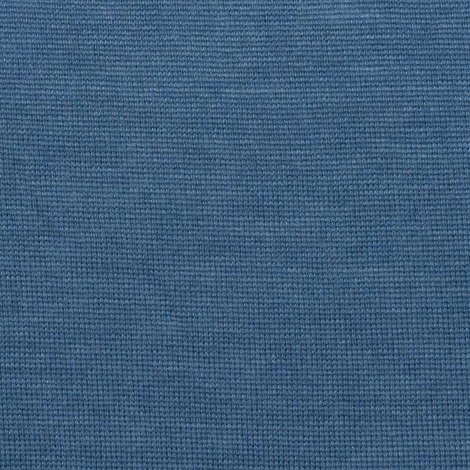 テンセル&ウール×無地(アッシュブルー)×天竺ニット イメージ1