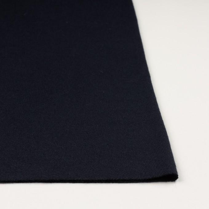 アクリル&ウール混×無地(ネイビー)×かわり編み イメージ3