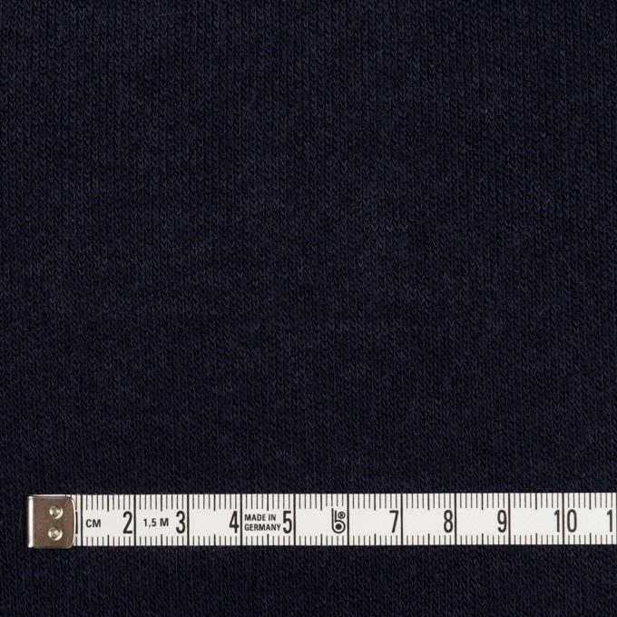 アクリル&ウール混×無地(ネイビー)×かわり編み イメージ4
