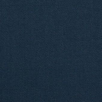 ウール×無地(インクブルー)×サージ サムネイル1