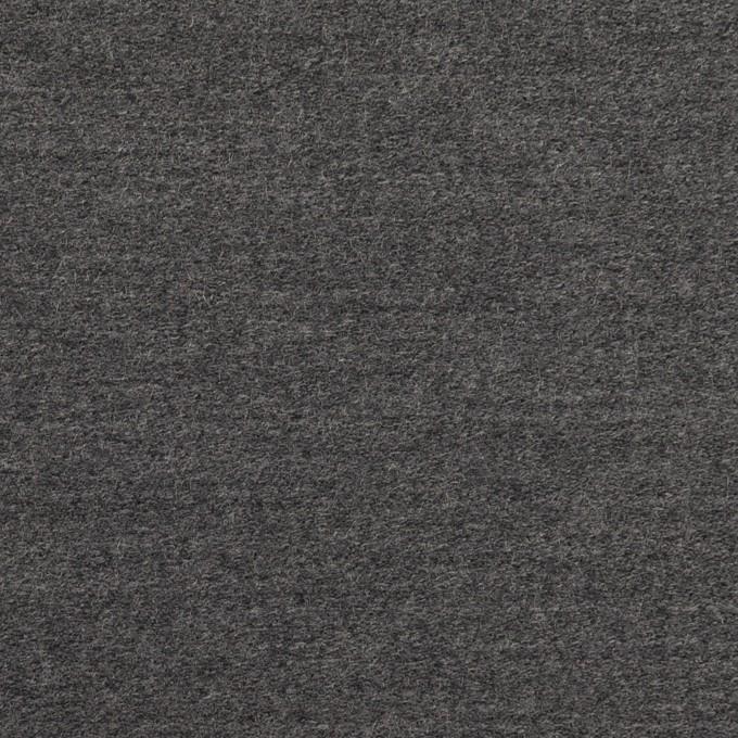 ウール×無地(チャコールグレー)×ベネシャン イメージ1