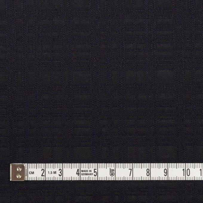 コットン×チェック(ダークネイビー)×ジャガード イメージ4