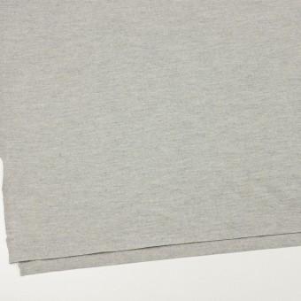 ウール×無地(ライトグレー)×圧縮ニット サムネイル2