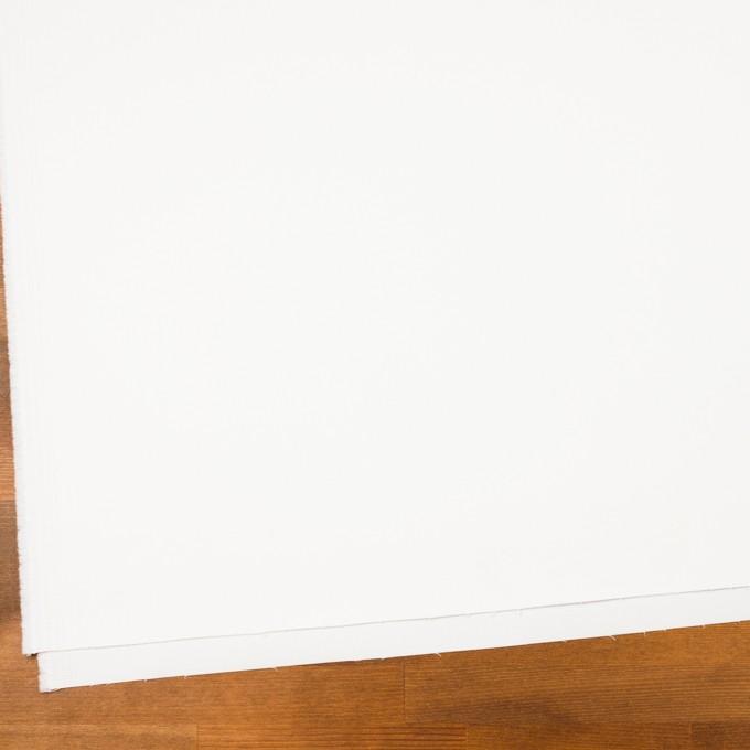 コットン&ポリウレタン×無地(オフホワイト)×サテンストレッチ イメージ2