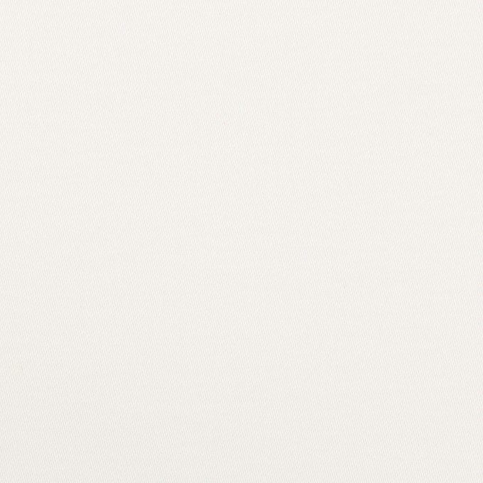 コットン&ポリウレタン×無地(オフホワイト)×サテンストレッチ イメージ1
