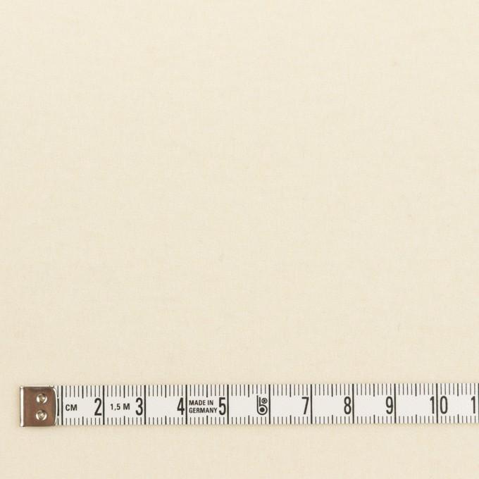 ウール×無地(クリーム)×ソフトメルトン イメージ4