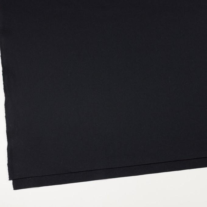 ウール×無地(ダークネイビー)×フラノ(フランネル)_全2色 イメージ2