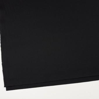 ウール×無地(ブラック)×フラノ(フランネル)_全2色 サムネイル2