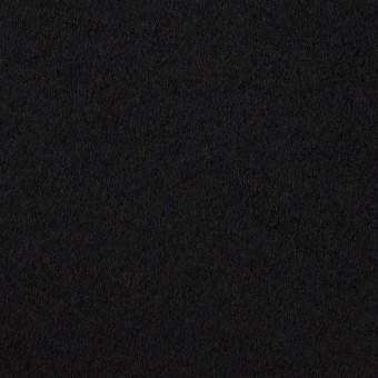 ウール×無地(ブラック)×フラノ(フランネル) サムネイル1