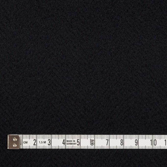 ウール×無地(ブルーブラック)×ビーバー イメージ4