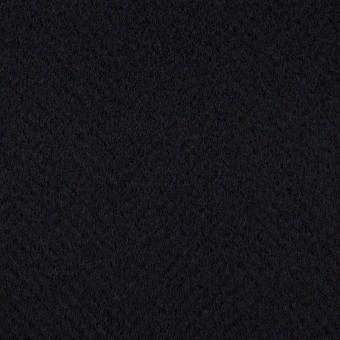 ウール×無地(ブルーブラック)×ビーバー