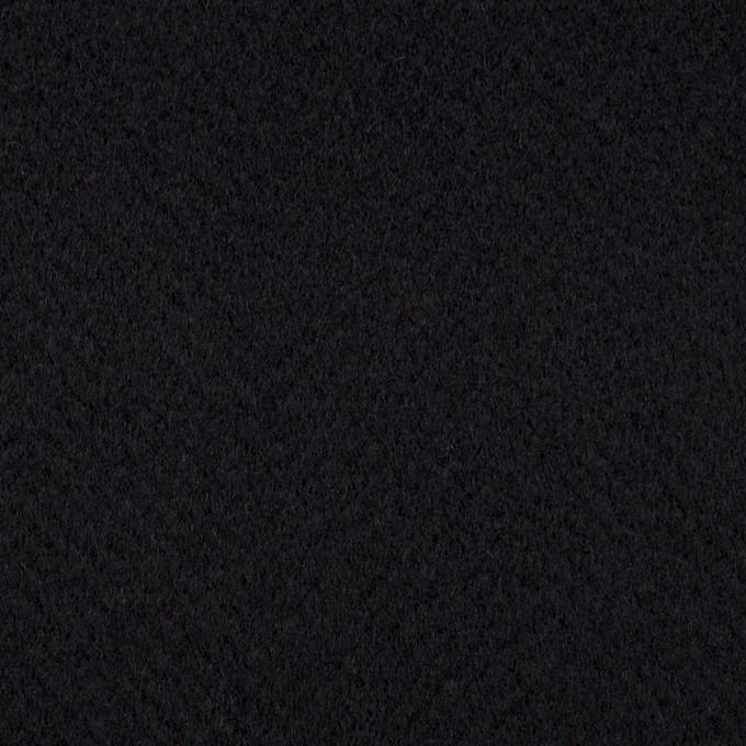 ウール×無地(ブルーブラック)×ビーバー イメージ1