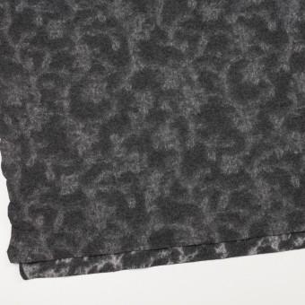 ウール×幾何学模様(チャコールグレー&ライトグレー)×ジャガードニット_全2色 サムネイル2