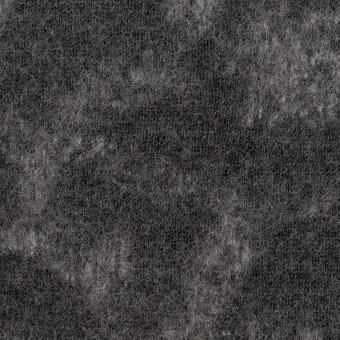 ウール×幾何学模様(チャコールグレー&ライトグレー)×ジャガードニット_全2色