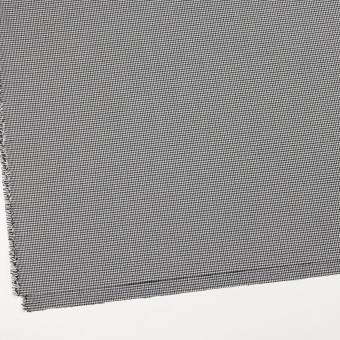 ポリエステル&レーヨン混×チェック(ネイビー&ブラック)×千鳥格子ストレッチ_全2色 サムネイル2