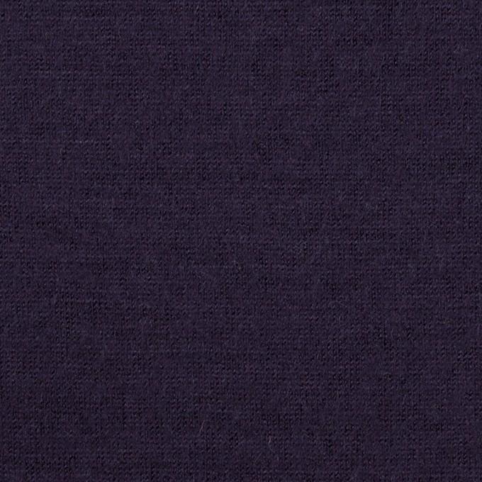 ウール×無地(グレープ)×天竺ニット イメージ1