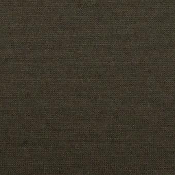 ウール×無地(カーキグリーン)×天竺ニット