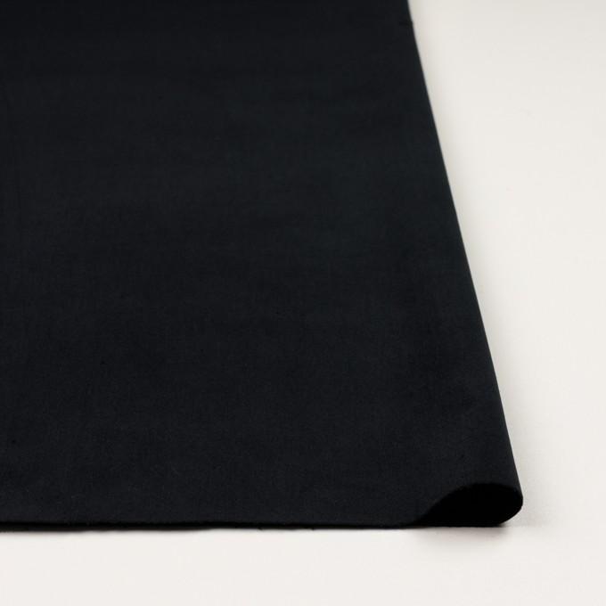 コットン&ポリウレタン×無地(ダークネイビー)×ベッチンストレッチ_全2色 イメージ3