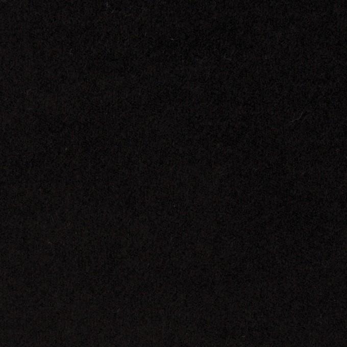 コットン&ポリウレタン×無地(ブラック)×ベッチンストレッチ_全2色 イメージ1