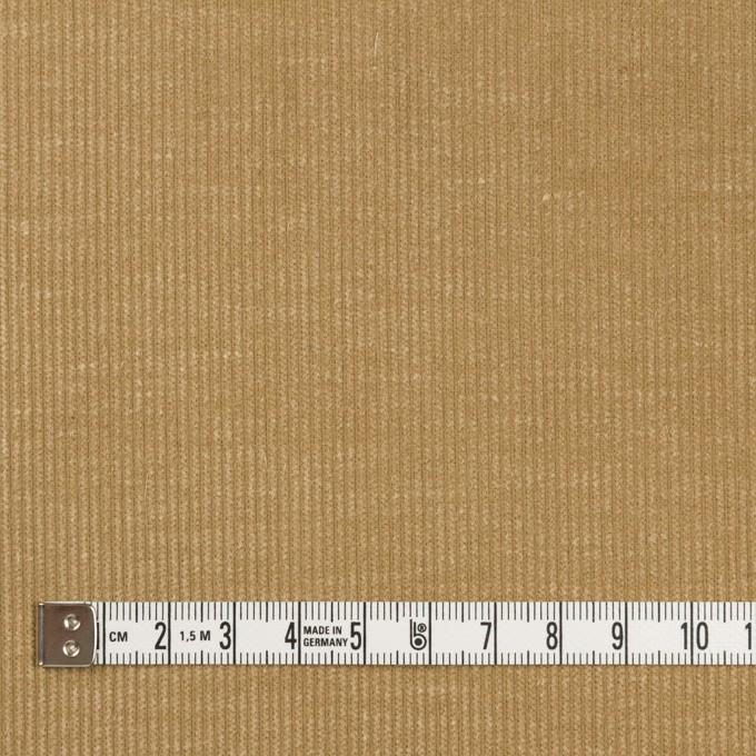 コットン×無地(カーキベージュ)×中細コーデュロイ イメージ4