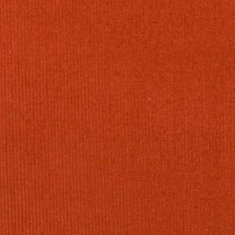 コットン×無地(オレンジブリック)×細コーデュロイ サムネイル1