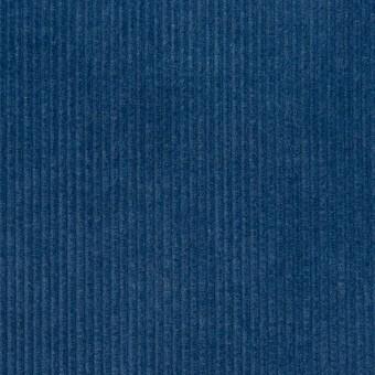 コットン×無地(インディゴブルー)×中細コーデュロイ サムネイル1