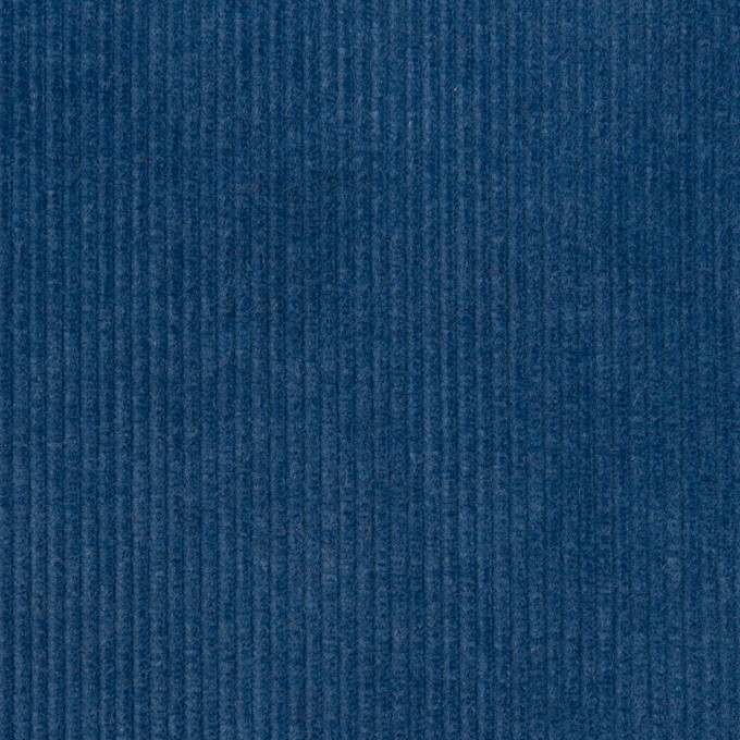 コットン×無地(インディゴブルー)×中細コーデュロイ イメージ1